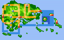 Fortree City Map