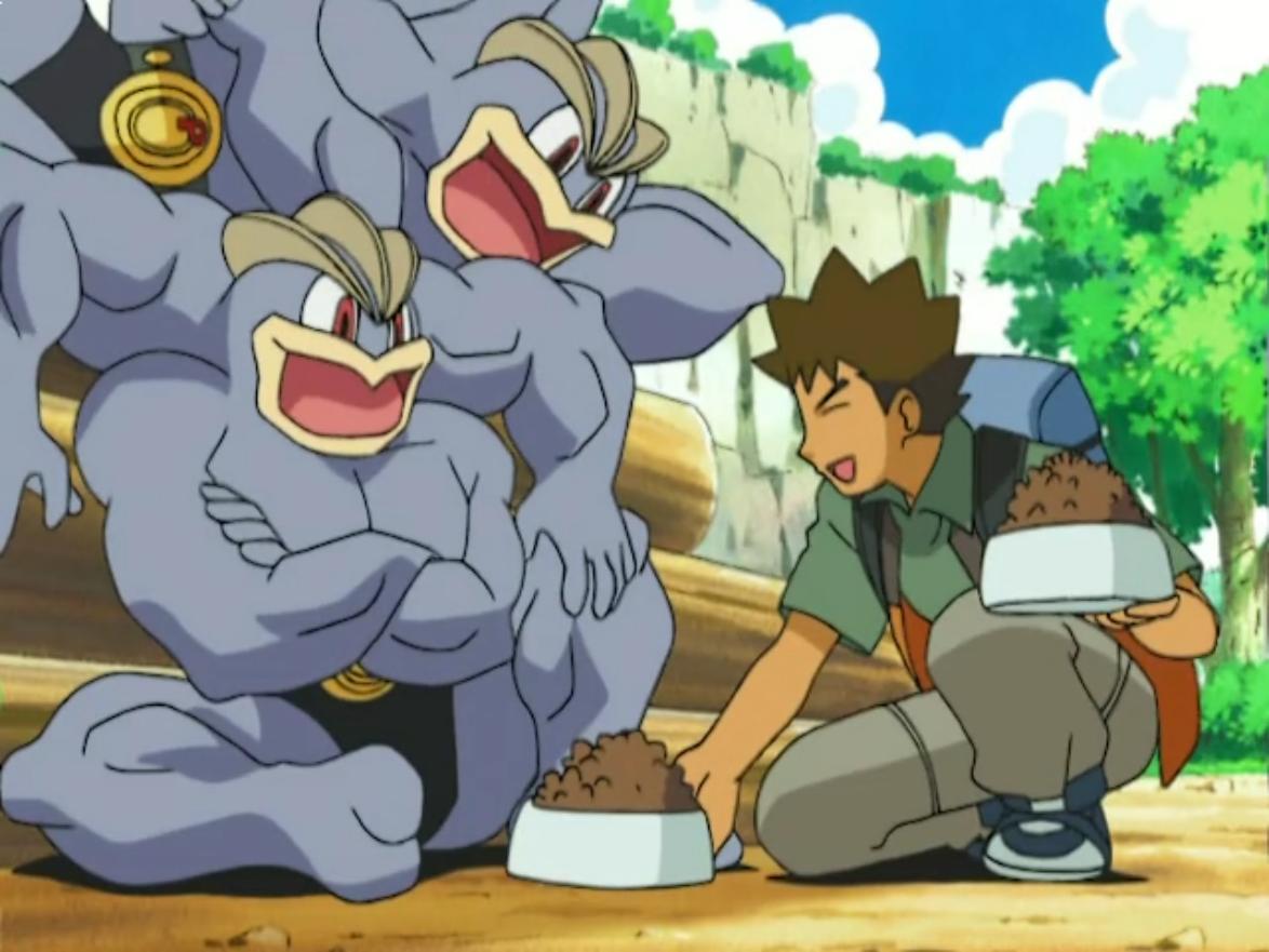Expert stonecutter Machamp