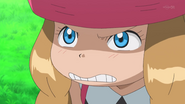 XY028 - Serena's angry face