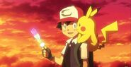 Ash Pikachu Rainbow wing