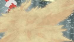Everett Furfrou Sand Attack