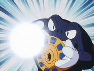 Tad's Poliwrath Ice Beam