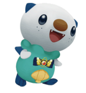501Oshawott Pokemon Mystery Dungeon Gates to Infinity