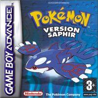 Pokémon Version Saphir Europe