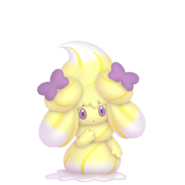 869Alcremie Lemon Cream Ribbon Sweet Pokémon HOME