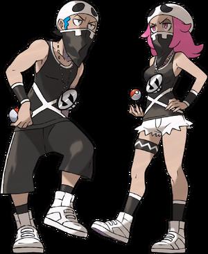 Sun Moon Team Skull Grunt