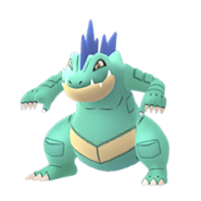 Feraligatr GO Shiny