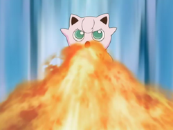 Lisa Jigglypuff Flamethrower