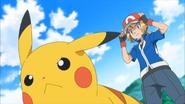 Serena en Pikachu