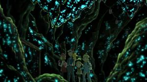애니메이션에서의 끝의 동굴 내부