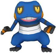 453Croagunk Pokémon PokéPark