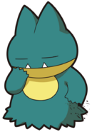 446Munchlax DP anime 7