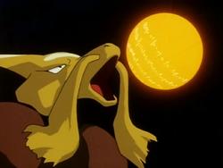 Luana Alakazam Hyper Beam