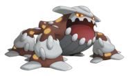485Heatran Pokemon Ranger Shadows of Almia