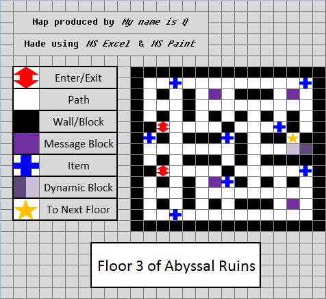Abyssal Ruins Floor 3