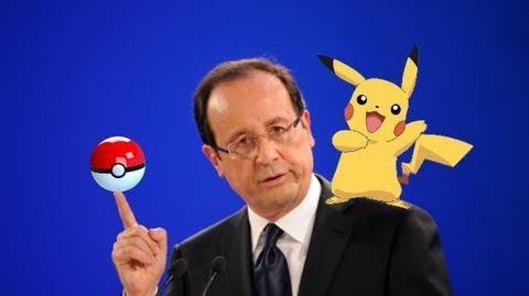 François Hollande chante Pokémon