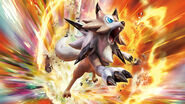 Lycanroc (Midday) Sun and Moon Guardians Rising