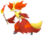 655Delphox Pokémon HOME