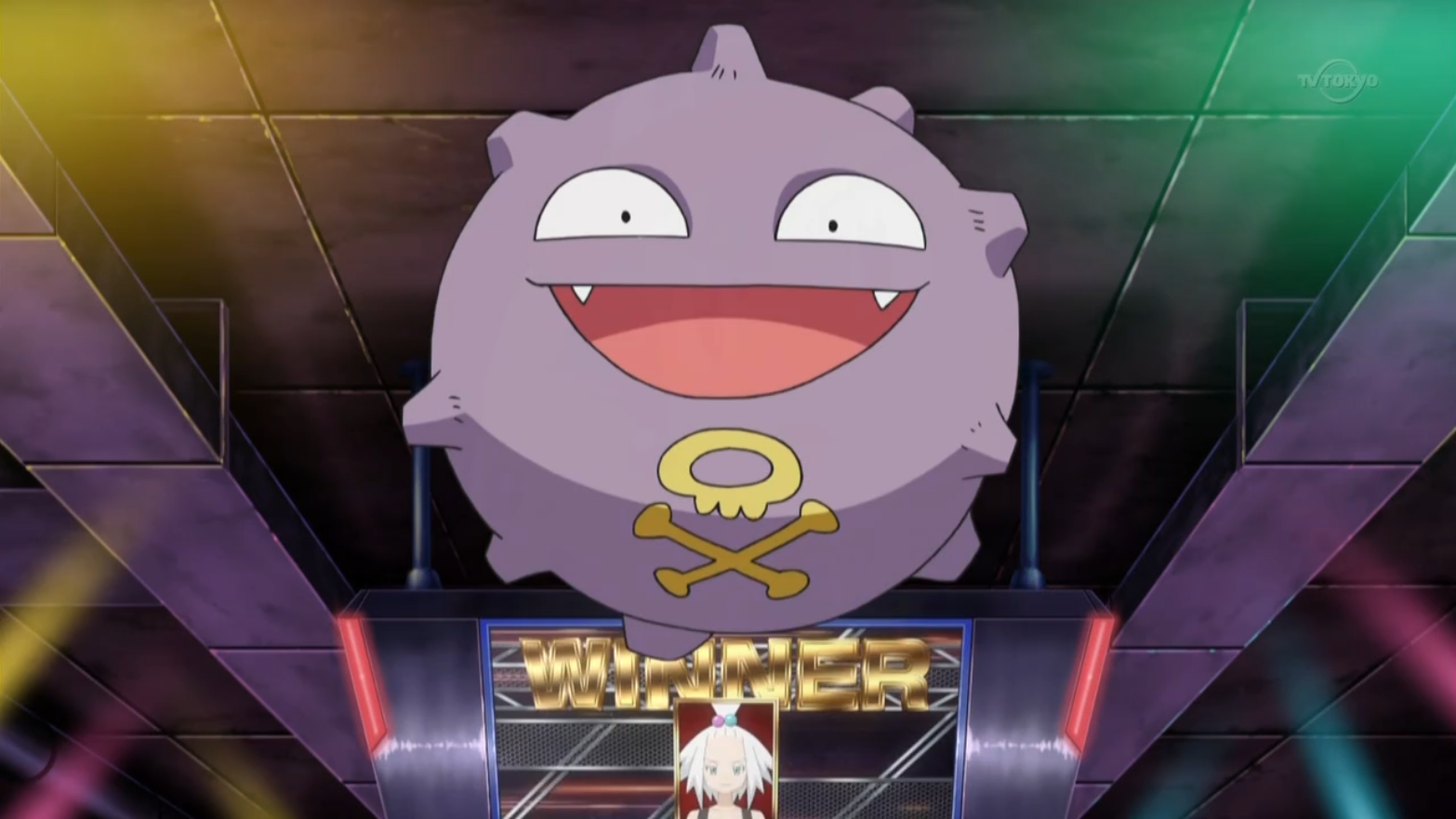 Image result for koffing pokemon anime