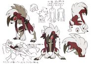 Midnight lycanroc concept