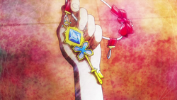 Serena's eerste prinsessen sleutle