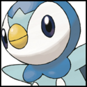 Generation IV Button - Piplup