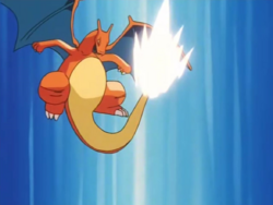 Battle Park Charizard Iron Tail