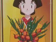 Tamao in her Kimono