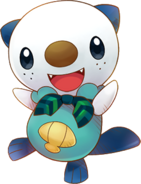 501Oshawott Pokémon Super Mystery Dungeon