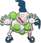 Mr mime shiny sprite