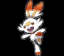 Pokemon scorbunny 2x