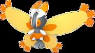 414Mothim Pokémon HOME