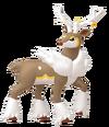 586Sawsbuck Winter Pokémon HOME