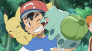 Ash and Bulbasaur