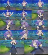 Pokémon USUM Acerola Ghost Z move pose