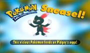 Sneasel - Who's that Pokémon