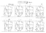 Togepi anime model sheet 4