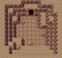 에메랄드 바위동굴 성호가 있는 방