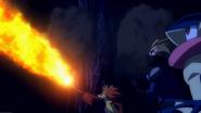 Merilyn Delphox Flamethrower