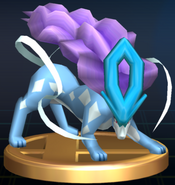 Suicune trophy SSBB