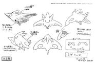 Togekiss anime model sheet