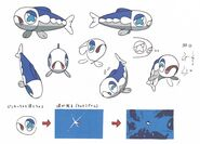 Wishiwashi concept art