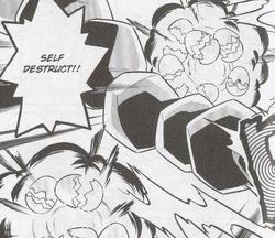 Lt. Surge's Electrode Self-Destruct