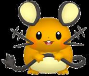 702Dedenne Pokémon HOME