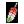 도트 아이콘 무지갯빛날개