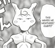 Mewthree manga
