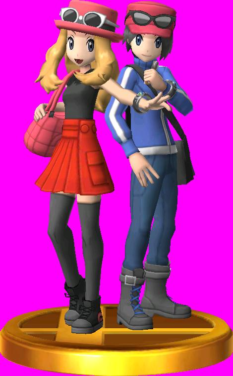 Pokémon Trainer (Pokémon X & Y) trophy SSB3DS