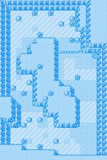 루사 여울의 동굴 지하얼음방