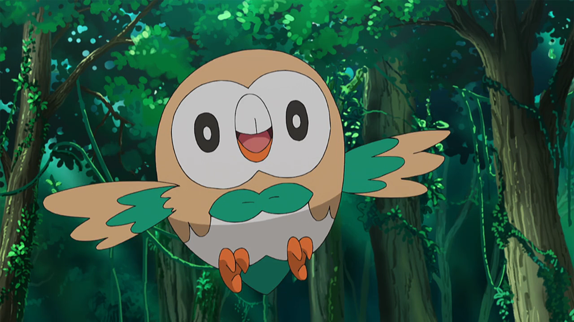 Ashs Rowlet Pokémon Wiki Fandom Powered By Wikia