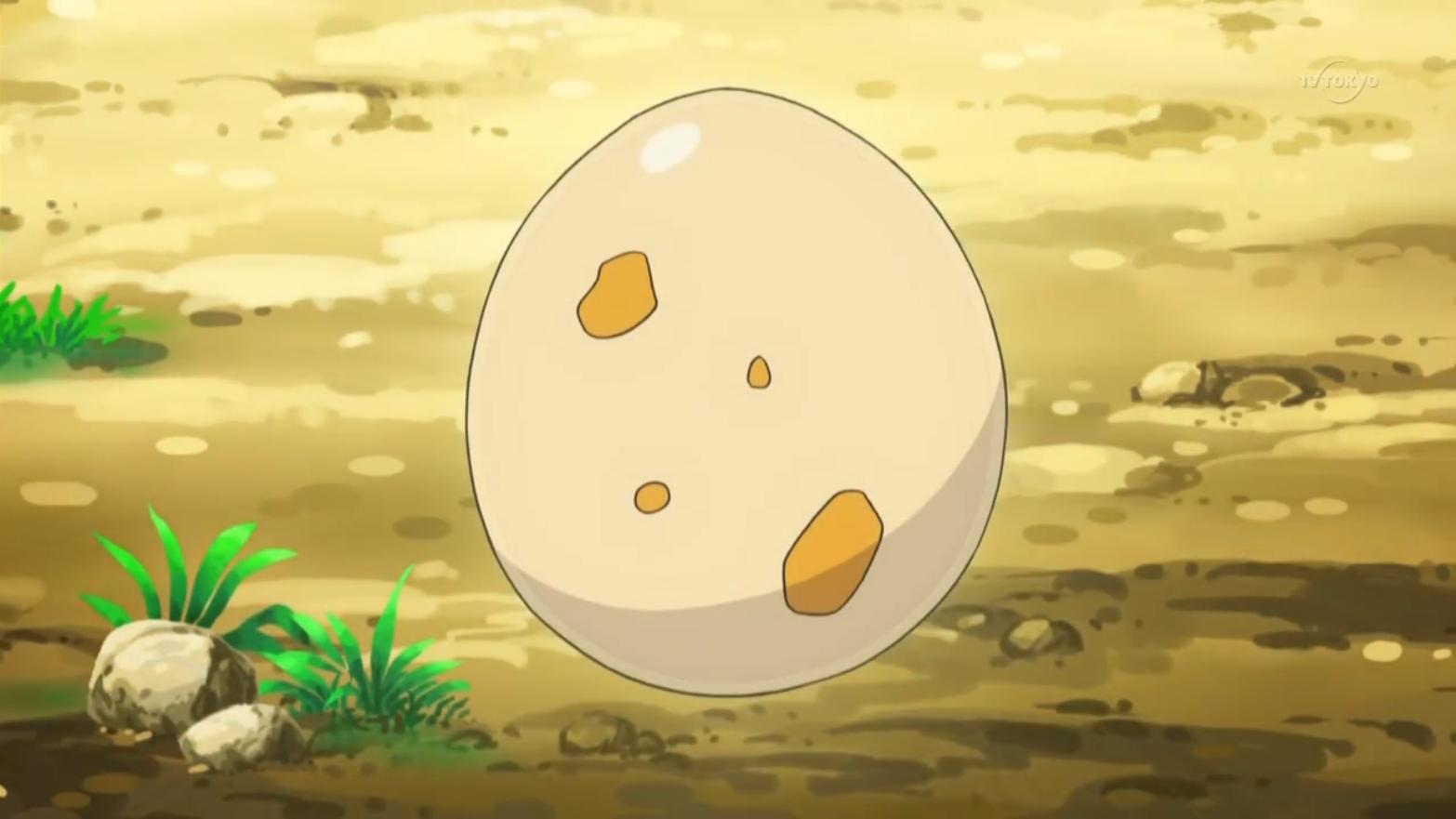 Ash Scraggy Egg